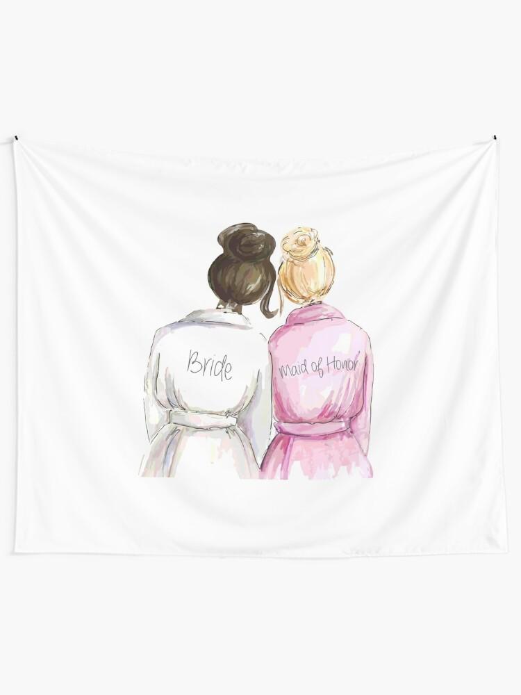 Hochzeitsgeschenke Bridal Shower Geschenke Beste Süße Engagement Geschenk Für Sie Braut Trauzeugin Frauen Beste Freundin Oder Schwester