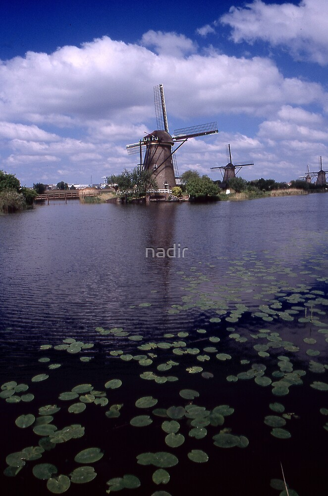windmill by nadir