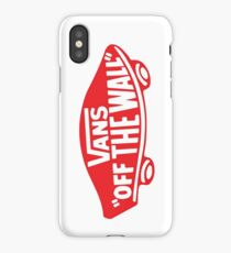 vans logo iPhone Case/Skin