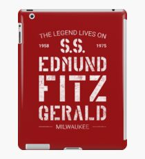 The Legend Lives On S.S. Edmund Fitzgerald iPad Case/Skin