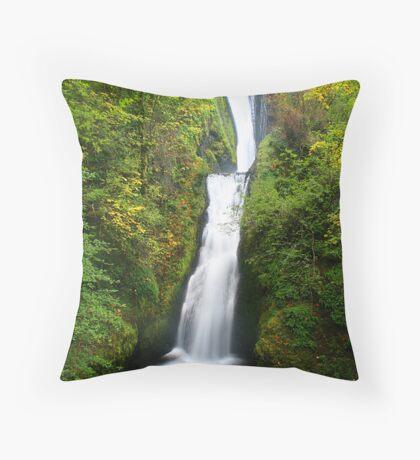 Bridal Veil Falls Throw Pillow