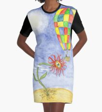 The watering Graphic T-Shirt Dress