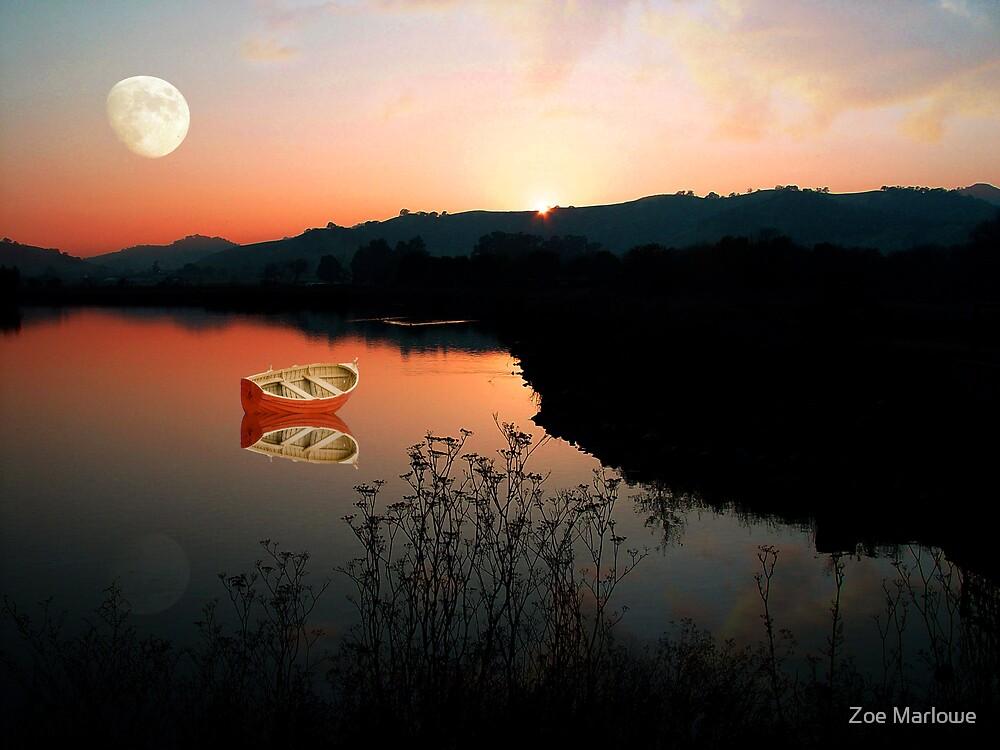 Soft Autumn Sunset by Zoe Marlowe