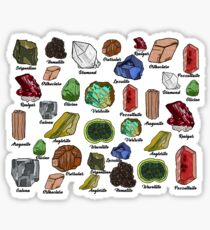 Minerals Sticker