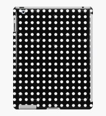 Polka Dots! - BLACK iPad Case/Skin