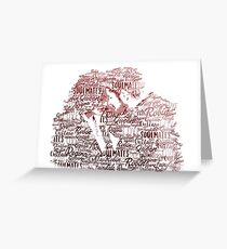 OUAT - Outlaw Queen Greeting Card