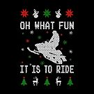 Snowmobile Ugly Christmas Tees by EthosWear