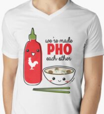 We're Made PHO Each Other Men's V-Neck T-Shirt
