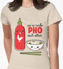 We're Made PHO Each Other Women's Fitted T-Shirt