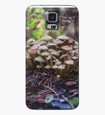 Woodland fairy mushrooms in Thetford forest, England Case/Skin for Samsung Galaxy