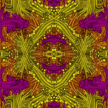 Purple & Yellow & Orange by shopismo