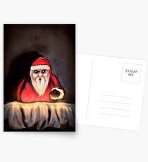 Black Xmas: Santa Claus is Here Postcards