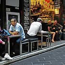 Lunchtime in Centre Way by AnnieD