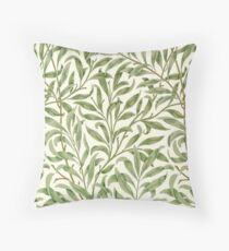 Willow Bough by William Morris Throw Pillow