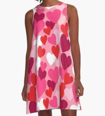 Sweet Hearts for your Sweetheart A-Line Dress