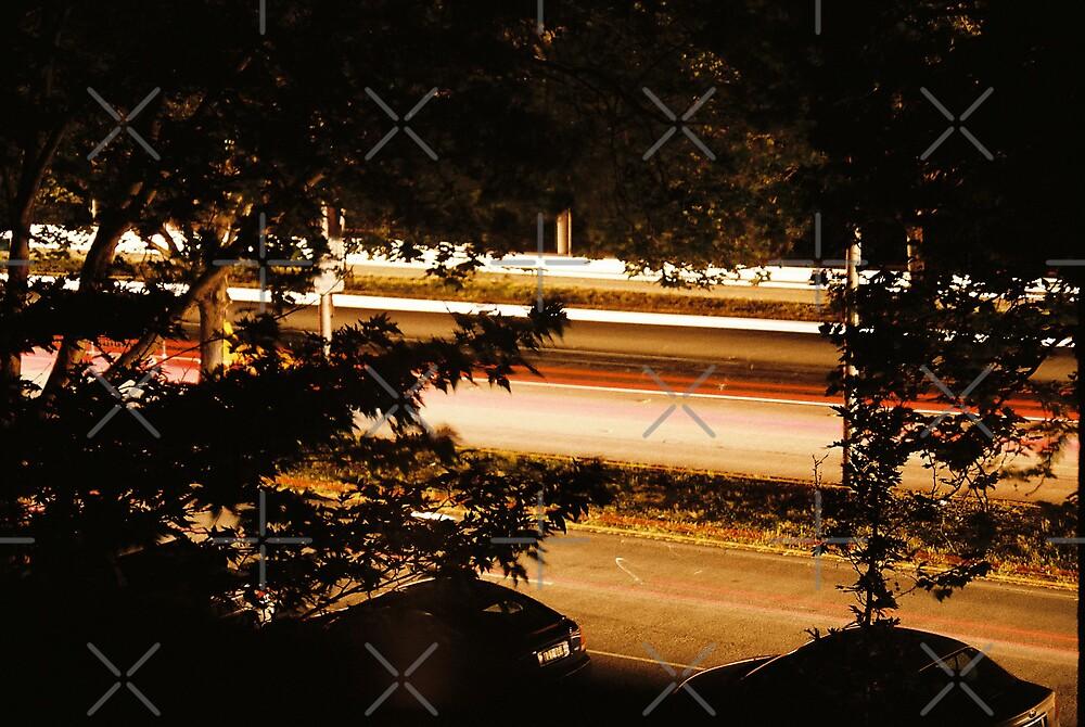 St Kilda Rd Blackout 1 by Catherine C.  Turner