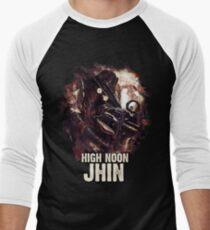 League of Legends HIGH NOON JHIN Men's Baseball ¾ T-Shirt