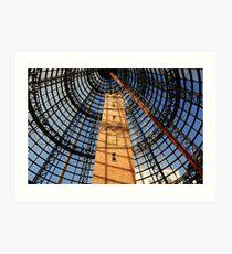 Coops Shot Tower - Melbourne Central Art Print