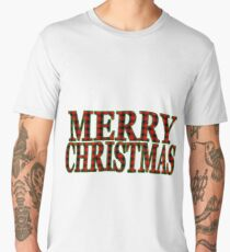 Plaid Christmas Men's Premium T-Shirt
