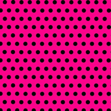 Make a Fashion Statement with Gorgeous Pink with Black Polka Dots by ExpressingSelf