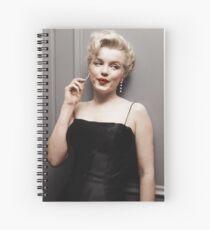 Marilyn Monroe 1956 Spiral Notebook