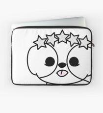 Shih Tzu Puppy with Star Crown Laptop Sleeve