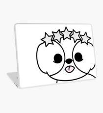 Shih Tzu Puppy with Star Crown Laptop Skin