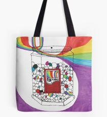Rainbow Beans by Haley Tote Bag