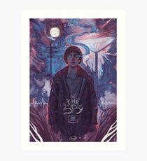 Stranger Things - The Spy Art Print