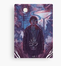 Stranger Things - The Spy Canvas Print