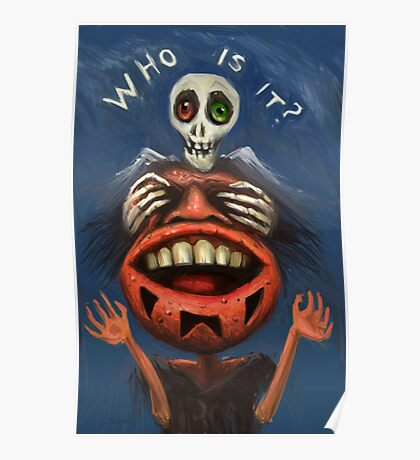 Who is it? Poster