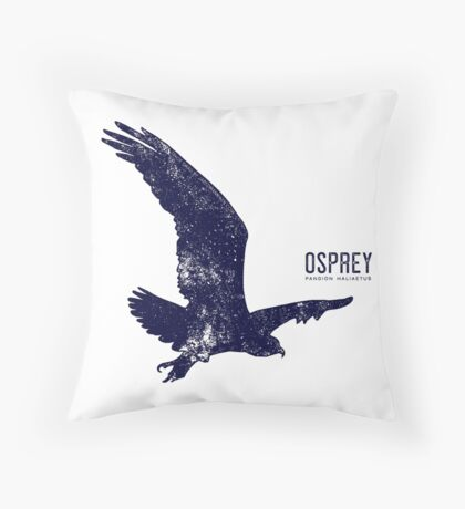 Osprey Taking Flight Floor Pillow
