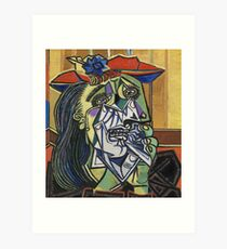 The Weeping Woman-Pablo Picasso Art Print