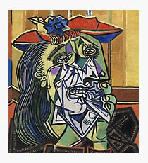The Weeping Woman-Pablo Picasso Photographic Print