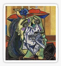 The Weeping Woman-Pablo Picasso Sticker