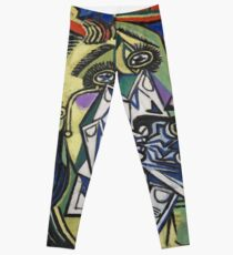 The Weeping Woman-Pablo Picasso Leggings