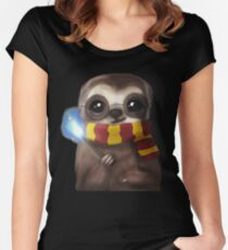 Harry Sloth Women's Fitted Scoop T-Shirt