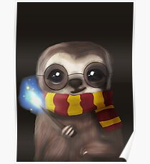 Harry Sloth Poster