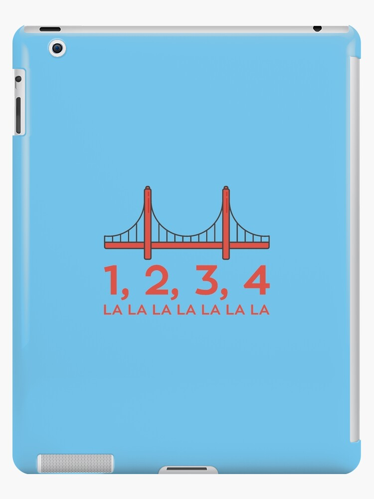 'Fuller House - San Francisco Bridge' iPad Case/Skin by WhiteRabbitNZ