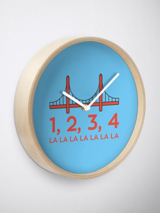 Fuller House - San Francisco Bridge | Clock