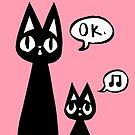 Derp Cat Speaks - Momma & Baby by ChelseaPray