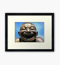 Laughing Framed Print