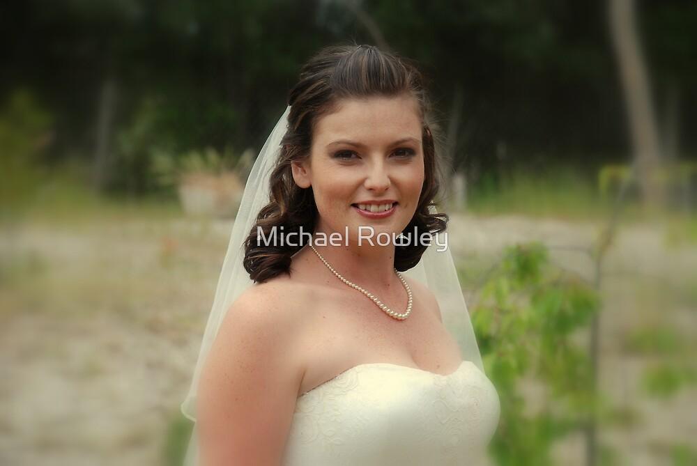 Alicia Wedding Day by Michael Rowley
