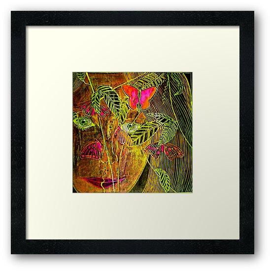 "Butterfly Lady by Belinda ""BillyLee"" NYE (Printmaker)"
