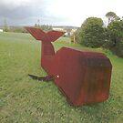 Whale,Sculpture Bermagui,Australia 2017 by muz2142
