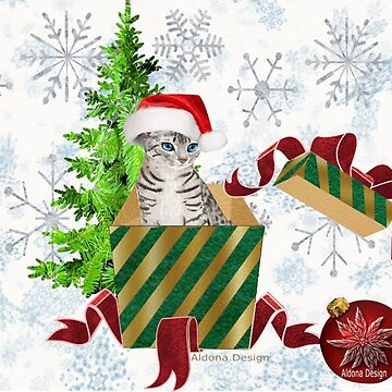 Christmas Cat  (6640 Views) by aldona