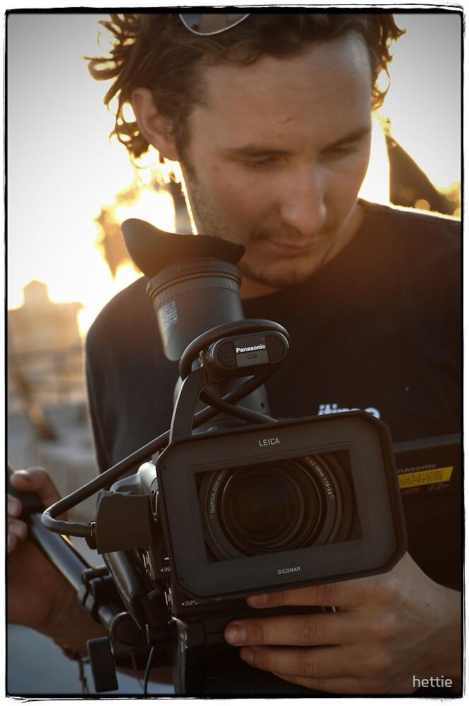 Filming by hettie