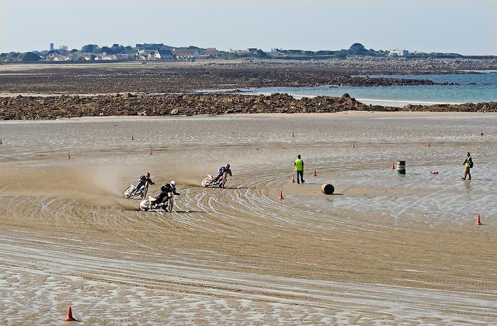 Bikes on the Sand by Karen Millard