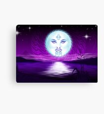 Maori Moon  Canvas Print
