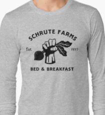 Schrute Bauernhöfe Langarmshirt